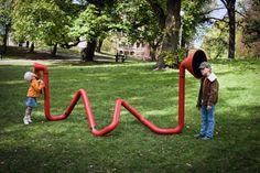 63. Interactive, Sound Sculpture for Kids