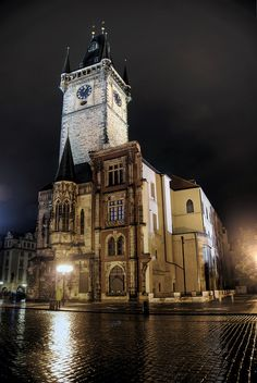 prague at night by mariusz kluzniak, via Flickr