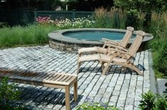 spa garden - traditional - pool - boston - Timothy Lee landscape design
