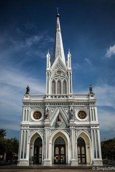 https://flic.kr/p/xQ6FZB   Gothic Cathedral in Thailand   The Nativity of Our Lady Cathedral, Bang Nok Kwaeng, Samut Songkhram, Thailand.