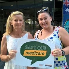 Townsville Sunday markets ... Affordable high quality universal healthcare paid through taxes not credit card. Leave alone Malcolm Turnbull. #proudtobeunion