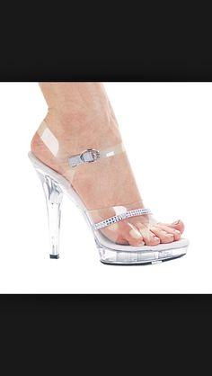30c19ea85c4 96 Best Clear shoes images