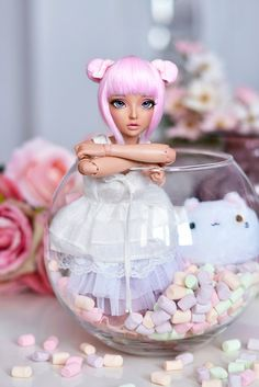 (4arllin) Tags: bjd minifee mnf celine doll alpaca wig fairyland tan 4arllin