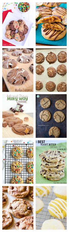 50 of the best cookie recipes you'll find! Not your mama's chocolate chip cookies-these are something special.