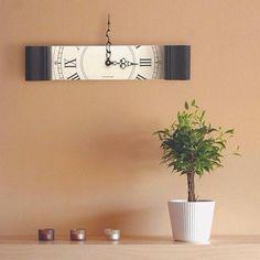 Креативные часы / Декор стен / Своими руками - выкройки, переделка одежды, декор интерьера своими руками - от ВТОРАЯ УЛИЦА