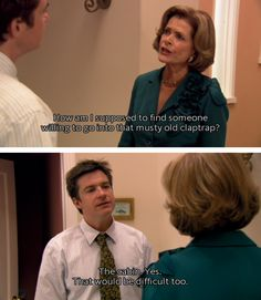 "40 of the Funniest ""Arrested Development"" Screencaps from Look What I Found"