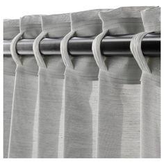 Ikea Curtains, Pergola Curtains, Home Curtains, Curtains Living, Panel Curtains, Curtains With Hooks, Blush Curtains, Cotton Curtains, Curtains Without Sewing