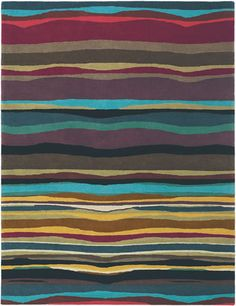 living room rug idea...incorporate ALL the colors