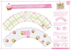 Wrappers de Cupcake