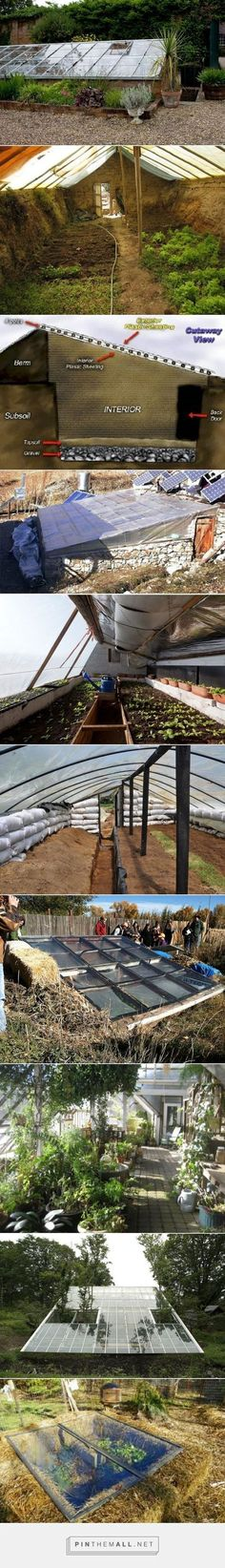 Walipini: Pit Greenhouses #greenhousefarming