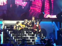 the boys (4/5) on stage tonight in Jakarta // 25.3.15