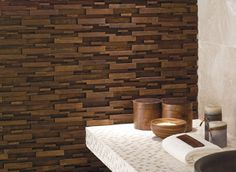 Wood Mosaics by L'Antic Colonial  #WoodLovers #woodmosaics #interiordesign