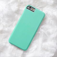 iPhone 6 Cases   Mint Green Solid Fashion Color iPhone 6 Case
