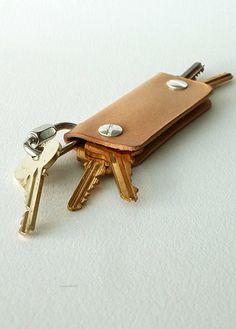 Useful gift for men, elegantly simple keychain, yup i want it