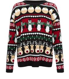 """Get in the festive spirit with this penguin fairisle jumper.- All over penguin fairisle design- Rounded neckline- Simple long sleeves- Casual fit- Soft knitted fabric- Model is 5'8""""/176cm and wears UK 10/EU 38/US 6"""
