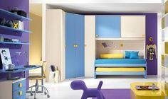 Модульная детская One 217 — Московский Дом Мебели