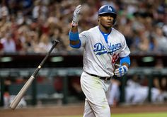 What Yasiel Puig's hot start means for the Dodgers = There haven't been many more frustrating falls from grace in baseball over the last few years than that of Yasiel Puig. As we all remember, he tore into the majors part way through the 2013 season as a brash, unbridled 22-year-old. He cranked 19 homers in 104 games, finished 15th in MVP voting and 2nd in Rookie of the Year voting, and hit a ridiculous .319/.391/.925. He was…..