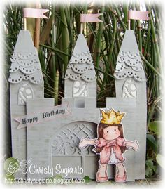 Christy Designs: Tilda Castle