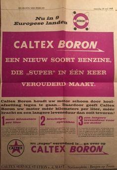 Caltex Boron Advertentie Brabants Nieuwsblad 25 mei 1964