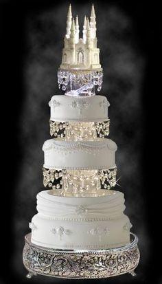 Fairy tale wedding cake by Cynthia895