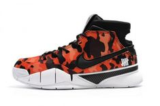 f80966f4f866 Real Undefeated x Nike Zoom Kobe 1 Protro Red Camo Mens Shoes Jordan Shoes  For Men