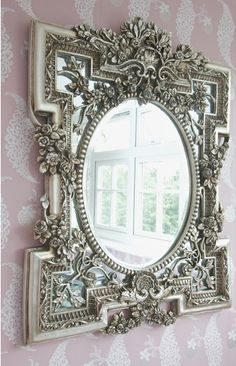 One of our lovely decorated mirrors
