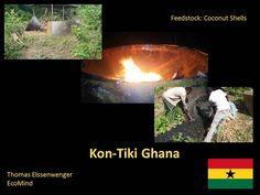 The Kon-Tiki goes to Ghana! Coconut Shell, Ghana, Outdoor Decor