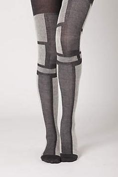Grey block-out tights  $38
