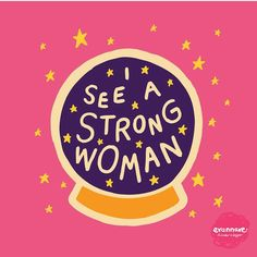 I see a strong woman/ quotes/ life motivation + Inspiration/ word up/ graphics/ art prints/ typography/ feminism/ feminsit art/ girl gang/ female empowerment Lettering, Typography, Framed Art Prints, Canvas Prints, Wall Prints, Beth Moore, Women Empowerment, Female Empowerment Quotes, Female Quotes