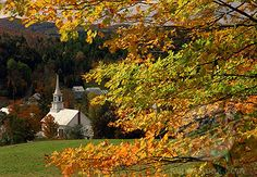 new england states in the Fall - Google Search