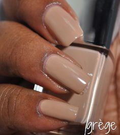 413 Grège is a warm tan creme. From the Nude collection for fall 2012 Dior Nail Polish, Dior Nails, Nude, Warm, How To Make, Beauty, Collection, Dior Nail Glow, Cosmetology