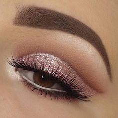 Pink makeup