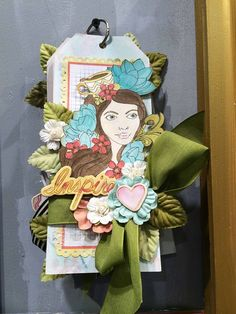 CHA Wrap-Up! The Bloom Collection can be used for anything! Cards, tags, canvas, mini-albums or tags! @Jamie Wise Wise Wise Dougherty