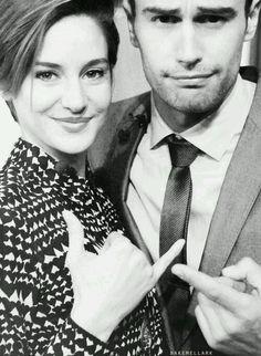 Theo James & Shailene Woodley