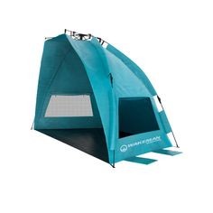 Make your outdoor adventure a memorable 1 by bringing along the Wakeman Outdoors Turquoise Pop Up Beach Tent Sun Shelter with Carry Bag. This sun shelter boasts a UV protection rating of UPF offers Sports Tent, Tent Cot, Tents, Pop Up Beach Tent, 3 Person Tent, Tent Stakes, Shelter Tent, Tent Reviews, Beach Umbrella