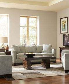 Kenton Fabric Sofa Living Room Furniture Sets & Pieces - Living Room Furniture - furniture - Macy's