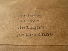 Picture this crimson, eleven, delight, petrichor