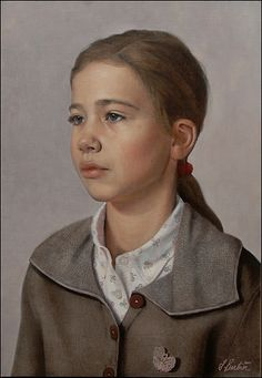Portrait of Eva (2010)  by Scott E. Bartner