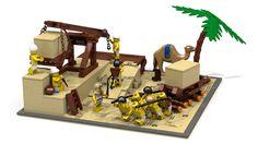 LEGO Pyramid Builders