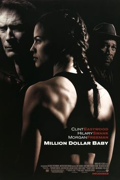 "Film: Million Dollar Baby (2004) Year poster printed: 2004 Country: USA Size: 27""x 40"" This is an original, unfolded one-sheet movie poster from 2004 for Million Dollar Baby starring Hillary Swank, Cl"