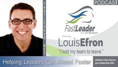 Louis Efron (@LouisEfron) moved to Japan to head up HR and build a consistent global culture for the organizations he was working for. Louis focused on learning the Japanese language to help lead his team, but it's what he learned about the culture that taught him the big lesson. Listen to Louis tell his story of learning about leadership behavior and what leading by example really means so you can move onward and upward faster.