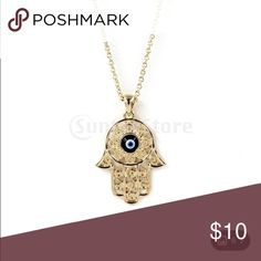 Costume jewelry gold hamsa Beautiful Jewelry Necklaces