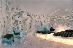 Ice Hotel in Canada