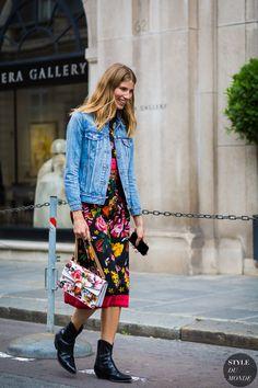Veronika Heilbrunner Street Style Street Fashion Streetsnaps by STYLEDUMONDE…