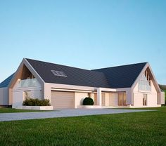 Projekt domu LK&1140 Dormer House, Bungalow Renovation, Shed, Outdoor Structures, Home, Ad Home, Homes, Haus, Barns