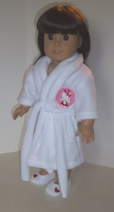 American Girl 18 Doll Clothing  Hello by sewsweetdollboutique, $22.00
