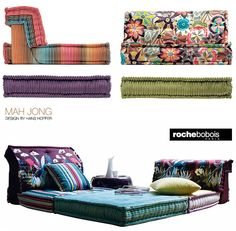 missoni roche bobois the mahjong modular sofa was first introduced more than