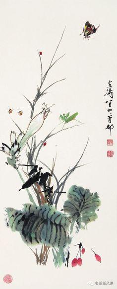 王雪涛精美花鸟50幅,真是太漂亮啦!