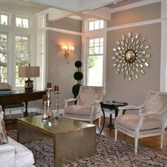 Living Room Hollywood Regency Design, Pictures, Remodel, Decor and Ideas - page 16