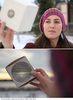 Origami Camera Obscura - Hannah Imlach